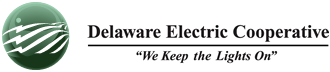 Electric metered by Delaware Electric Cooperative
